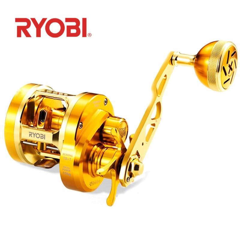 ryobi varius lento jigging carreteis max arraste 15kg engrenagem ratio7 0 1 carretel de pesca de