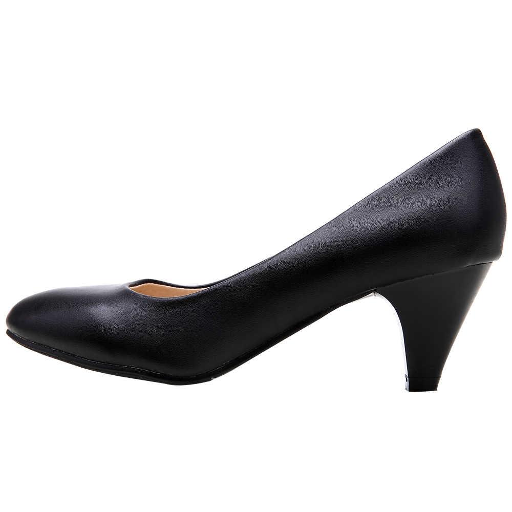 Yalnn zapatos de tacón fino para mujer tacones altos bombas de oficina neutra zapatos de mujer Zapatos altos de Mujer Zapatos de tacón básico