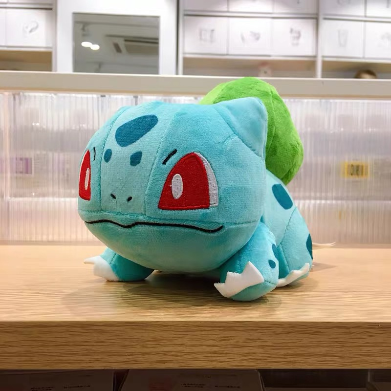 Japan Anime Charmander Pikachued plush toy Squirtle Bulbasaur Jigglypuff Lapras Eevee pokemoned Peluche Christmas gift for kids 3