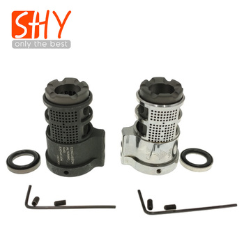 Steel VG6 Cage With 14mm Ccw Thread GAMMA 556 VG6 Flash Hider Muzzle Device For Toy Gel Blaster Airsoft AEG GBB