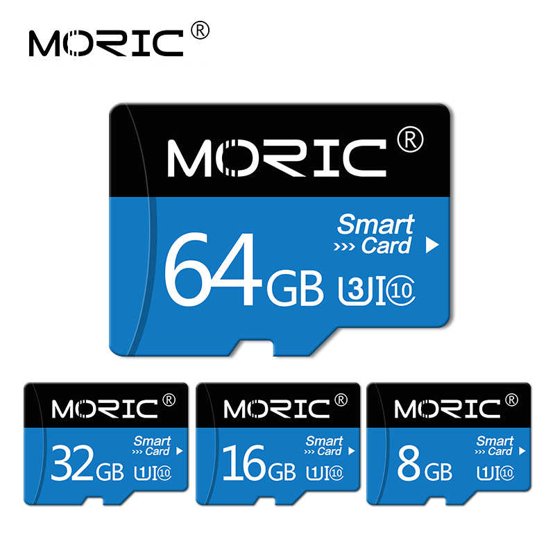 Moric Micro Sd 256Gb 128Gb 64Gb Geheugenkaart 32Gb 16G 8G Hoge Snelheid class10 Sd/Tf Flash Card Voor Smartphone/Tablet/Pc