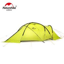 Tienda de montaña Naturehike Lgloo de doble residencia, gruesa, resistente al viento y a la lluvia, para las cuatro estaciones, cálida tienda 70D NH19ZP012