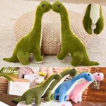 Рождественский Детский динозавр плюшевая игрушка длинная шея