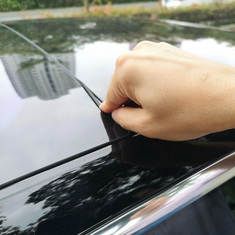 Nouveau 2.8m pare-brise toit pare-vent garde réduction du bruit joint Kit résistant aux intempéries Durable refléter ajustement pour Tesla modèle 3 #297549