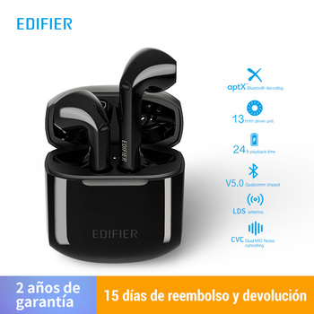 (2020 New Arrival)EDIFIER TWS200 True Wireless Qualcomm Chipset for 24 hoursplayback time with LSD antenna for a stable signal