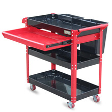 No-Tools Trolley Cart Drawer Workshop Plastic LAOA One Wheels