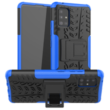 Wolfsay Case For Samsung Galaxy A51 5G Case Galaxy A51 5G Shockproof Rubber Hard Defender Armor Cover For Samsung A51 5G Cover armor phone case for samsung galaxy a51 cover tpu