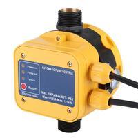 Neue Berufs 220 240V Elektrische Wasserpumpe Druck Sensor Schalter Wasserpumpe Automatische Druck Controller mit Press Gauge Prüfgeräte Werkzeug -