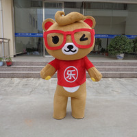 Janpan Brown Bear Mascot Costume Suits Cosplay Party Game Dress Outfits Cartoon Character Promotion Carnival Halloween Adults
