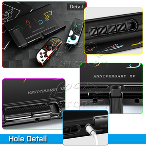 Image 4 - Nintendoswitch Protect PC Case Nintend Switch Accessories Carrying Shell Skin Nitendo Cover Nitendo Grips for Nintendo NS Games