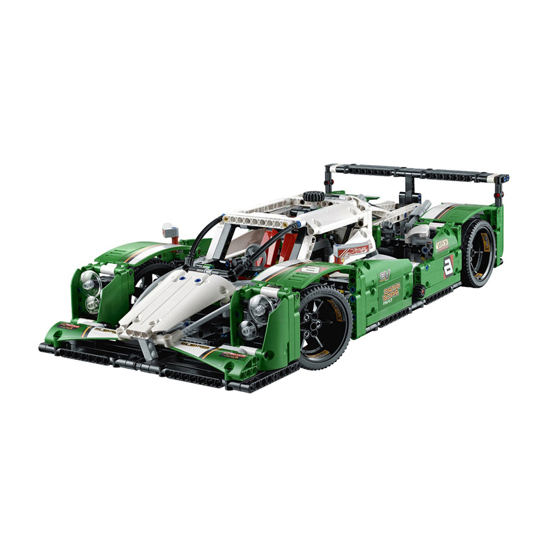 <font><b>legoED</b></font> Technic Series Compatible <font><b>42039</b></font> Model kit The 24 hours Race Car 20003 Building Blocks Bricks Educational Toys & Hobbies image