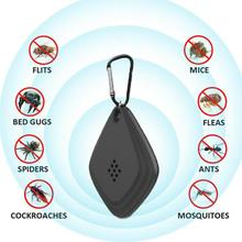 цена на Ultrasonic Anti Mosquito Killer Repellent USB Rechargeable Outdoor Insect Repeller With Hanging Hook Electronic Pest Killer