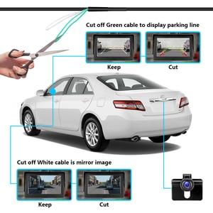 Image 4 - Jansite הפוך מצלמה אלחוטי 4.3 רכב צג מבט אחורי גיבוי מצלמה ראיית לילה עבור RV איסוף מיניוואן חניה סיוע