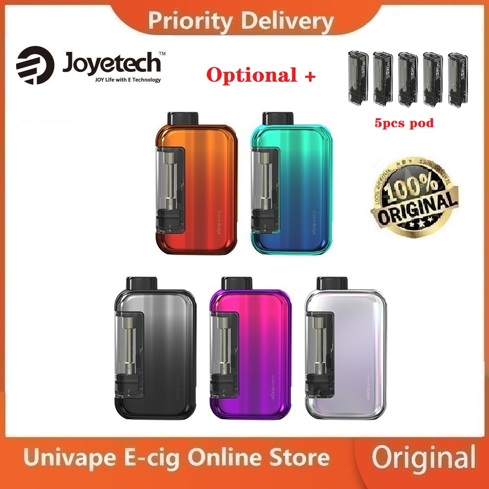 NEW Original Joyetech EGrip Mini Vape Kit 420mAh Battery Single / Dual Cartridge Version Vs Vinci X / Drag Nano / Exceed Grip