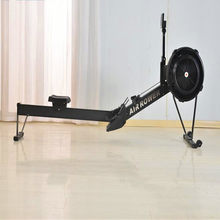 Row Machine Air indoor Rower Rowing Machine Home Fitness Equipment Concept 2 Wind Resistance Gym Sports