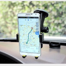 Car Phone Holder Truck Mounts Universal Bracket Windshield Mobile Phone Stands MP4 Support GPS PDA Automatic Lock 360 Rotating стоимость