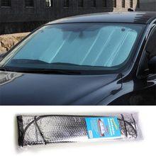 Рефлектор от солнца на лобовое стекло автомобиля абажур защита