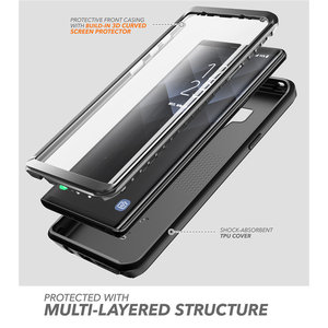 Image 2 - For Samsung Galaxy Note 9 Case Clayco Xenon Full Body Rugged Cover with Built in 3D Curved Screen Protector For Galaxy Note 9