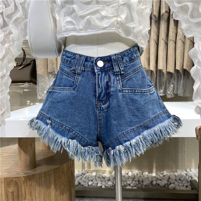 Hot sale summer woman denim shorts high waist ripped jeans shorts fashion sexy female shorts S-2XL drop shipping new 3