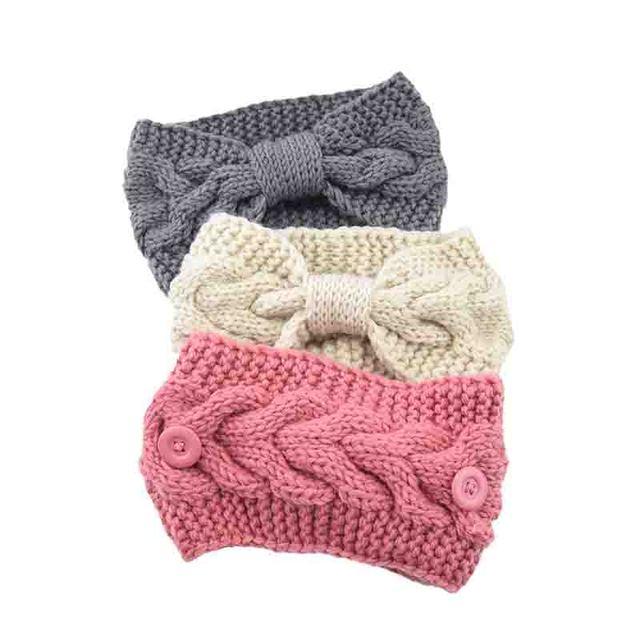 2020 Knitted Cross Headband For Women New Winter Hairbands For Women Girls Hair Accessories Knot Elastic Hairbands Headwear Hot