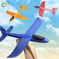 48 см Хорошее качество ручной запуск бросание планерный самолет инерционная пена EPP самолет игрушка детский самолет модель уличные Забавные...