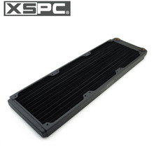 Copper Radiator Case 120MM XSPC 360MM Heatsink Water-Cooling-Loop ITX Build Small Super-Thin