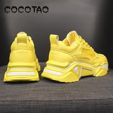 цены The New Trend Promotion Torre Shoes Female Korean Version Of Joker Sports Casual Ins Ultra-hot Red Thick Bottom Height Shoes45