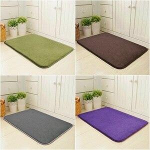 Floor Mat Entrance Door Mats Water Absorption Carpet Kitchen Rugs Doormat for Entrance Door Mat Living Room Non-Slip Tapete(China)