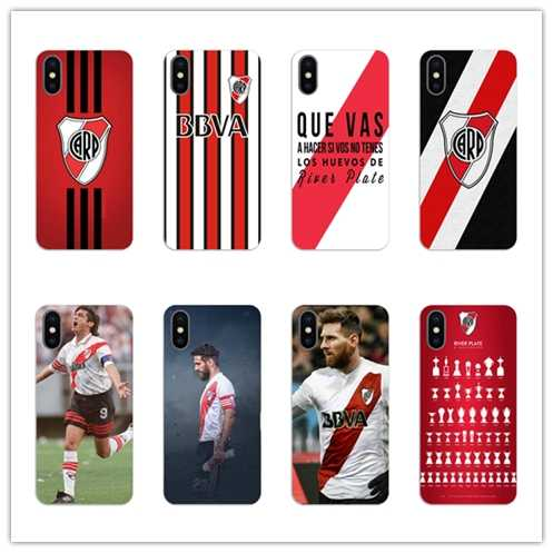 Argentina Club River Plate phone case Soft silicone TPU Phone Case cove for iPhone 5 5s SE 6 6S 7 8 PLUS X XS MAX XR shell coque