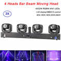 4 Heads Beam Landscape Light 4X32W RGBW Led Moving Head Light DMX Floorlight For DJ Disco Nightclub Party Event Show Stage