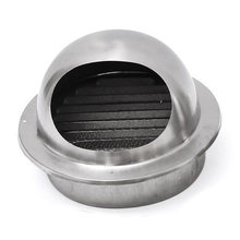 New Stainless Steel Ventilation Wall Air Vent Exhaust Extractor Ducting 100mm(China)