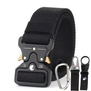Image 2 - Military Uniform Belt Tactical Clothes Combat Suit Accessories Outdoor Tacticos Militar Equipment Army Clothing Waist Belt