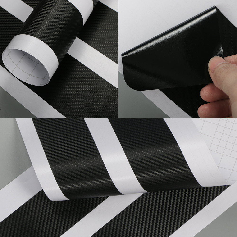 Image 5 - 4PCS Car Door Plate Scuff Protection Door Step Decoration Stickers For Hyundai i20 Carbon Fiber Door Sill Protector Accessories-in Car Stickers from Automobiles & Motorcycles