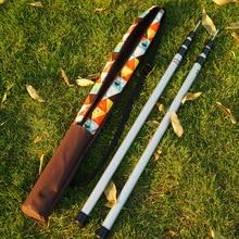 Outdoor canopy pole storage bag fishing rod bag fishing