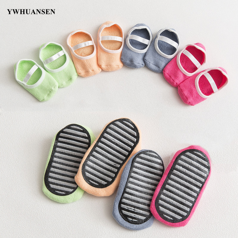 YWHUANSEN Baby Floor Socks Anti Skid Slip Socks With Grips Socks For Toddlers 10-36 Months Toddler And Infants Girl Multicolor