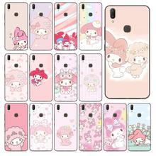 My Melody My Sweet Piano Phone Case For Vivo Y83 Y85 V9 Y95 Y91 Y91i Y97 V5 V5S V7 PLUS V11 V11 Pro V11I Mobile Cases(China)