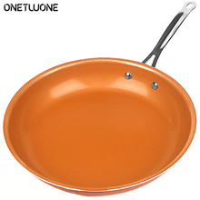 8 Inch  Frying Pan with Ceramic Coating Nonstick pan Fried Egg Beef Skillets Induction Cooker Oven Heating Kitchen Pan Cookware