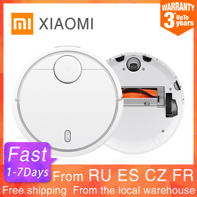 $ US $296.97 2019 XIAOMI Original MIJIA Robot Vacuum Cleaner for Home Automatic Sweeping Dust Sterilize Smart Planned WIFI App Remote Control