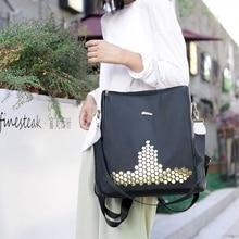 цена на New Women anti-theft backpack oxford cloth solid color backpack casual fashion female student school bag tide brand shoulder bag