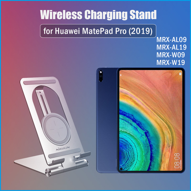 Nillkin Qi 15W Fast Tablet Wireless Charging for Huawei MatePad Pro 10.8 2019 Wireless Charger Stand for MatePad Pro 2019 5G