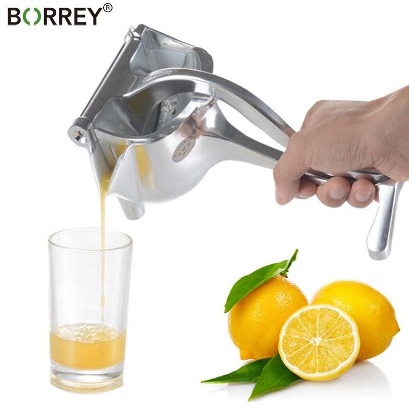 Citrus Juicer Press Fruit-Machine Lemon Orange Stainless-Steel Hand-Squeeze Smoothie