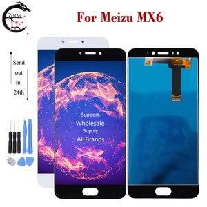 Image 2 - MX4 LCD ل Meizu MX4 زائد MX6 شاشة إل سي دي باللمس شاشة الاستشعار محول الأرقام الجمعية عرض MX4plus عرض استبدال اختبار OK