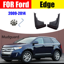 For FORD EDGE Mudguards Fender EDGE Mud flap splash Guard Fenders Mudguard Mudflaps car accessories auto styline Front Rear for ford kuga mudguards fender kuga mud flaps splash guard mudflap fenders mudguard car accessories auto styline front rrar 4pcs