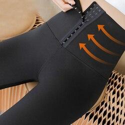 Leggings de cintura alta mulheres estiramento de veludo legging calças push up leggings de inverno para as mulheres elástico fitness gym legging grosso