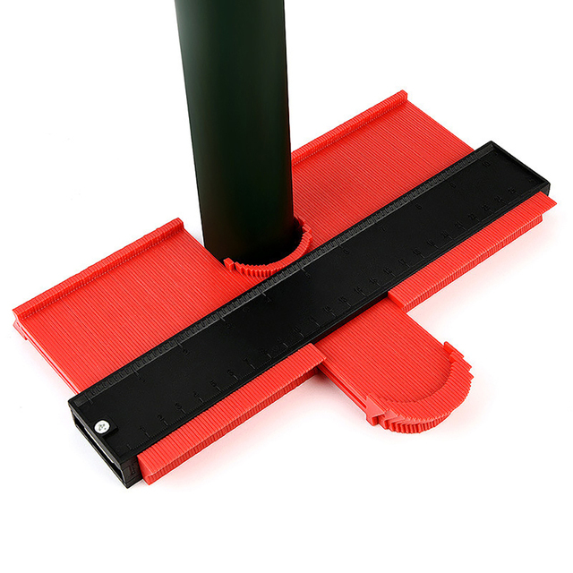 Irregular Contours Gauge Arc Ruler Profile Duplication Gauge Contour Template Plastic Contour Copy Duplicator Measuring Tool 6
