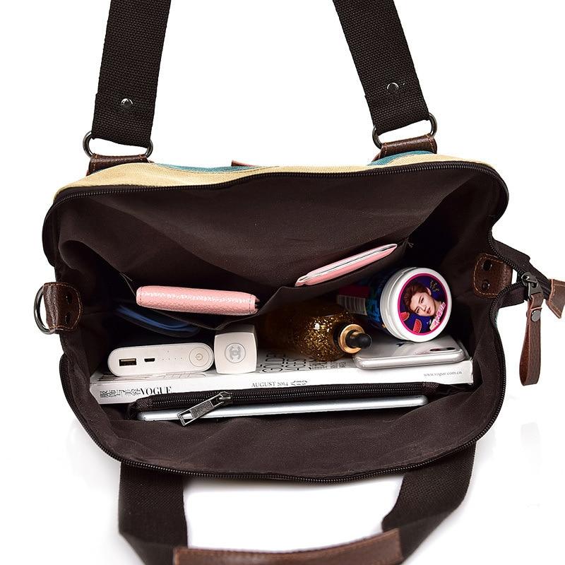 VIP Bag Womans Canvas Shoulder Bag 2020 Casual Women Handbag Ladies Fashion Luxury Designer Crossbody Bags Female Totes Bag 5