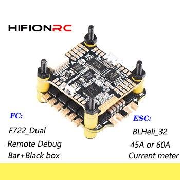 HIFIONRC Flight Controller F7 F4 Pro F722 F405 Blheli-32 32bit ESC 45A/60A Fly Tower Stack For FPV Racing RC Drone