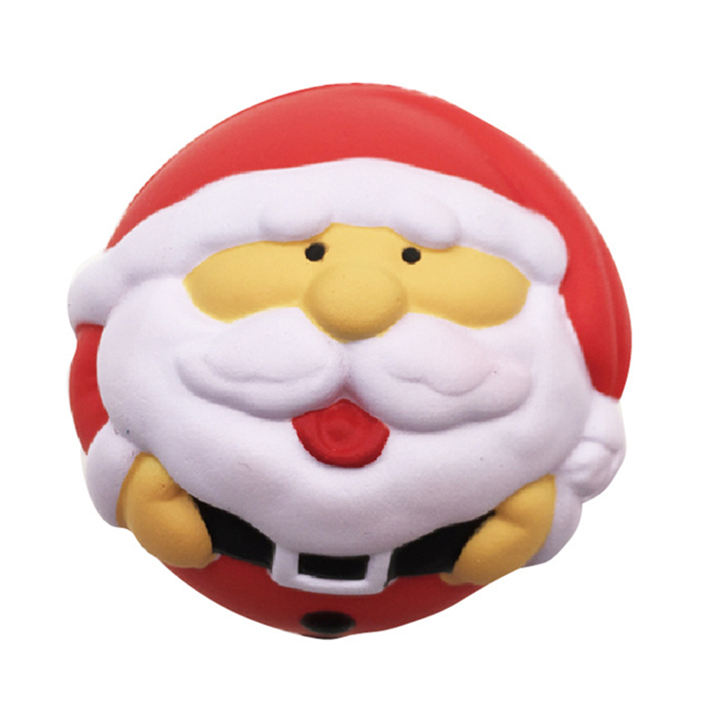 Christmas Slow Rising Toy Slow Rebound Santa Claus Doll Toy Slow Rising Soft Squishies Decompression Toys Gift For Adults Kids