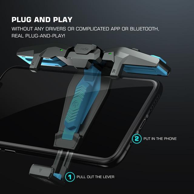 GameSir F4 Falcon Mobile Gaming Controller - Redefine  4