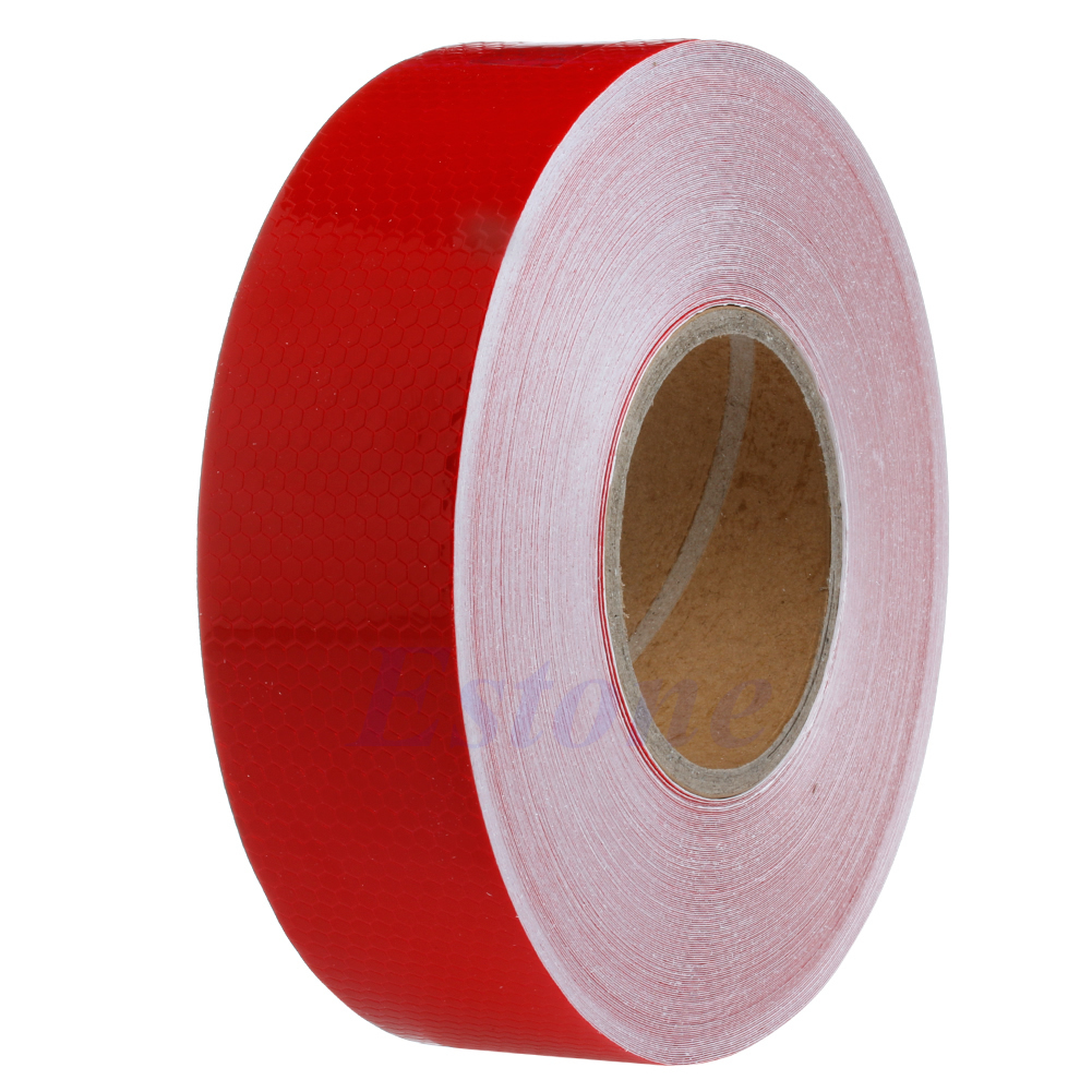 3M/ 50M Reflective Safety Warning Conspicuity Tape Film Sticker Multicolor Truck D08B